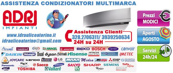 Assistenza condizionatori Ciriè installazione e riparazione