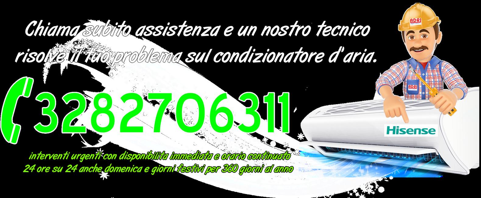 Assistenza condizionatori Hisense Torino