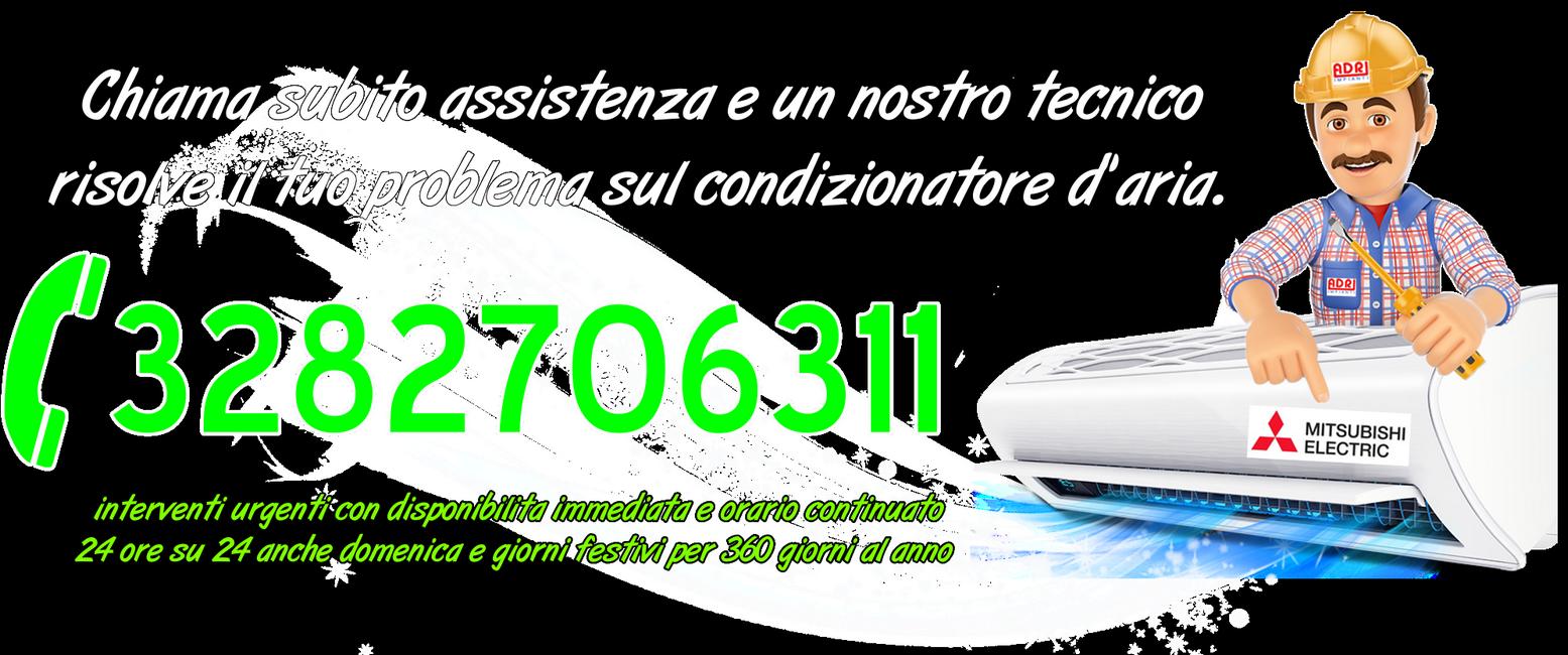 Assistenza condizionatori Mitsubishi Gassino Torinese