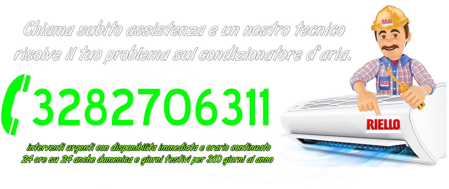 Assistenza condizionatori Riello Torino
