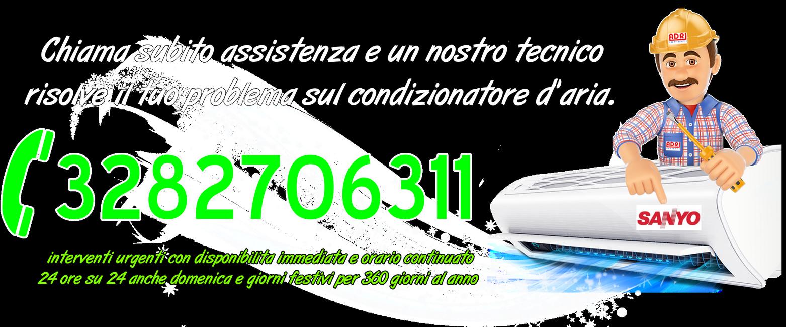 Assistenza condizionatori Sanyo Torino