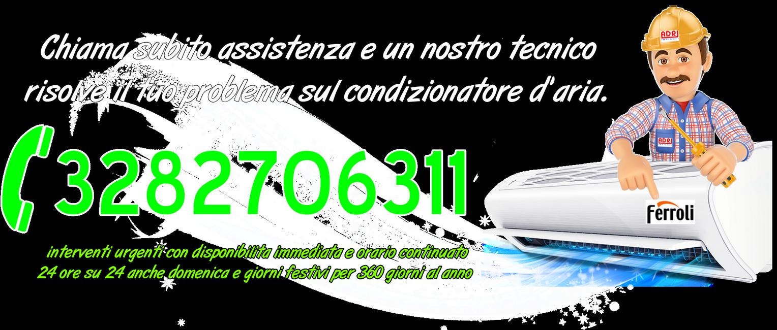 Assistenza condizionatori Ferroli Parella