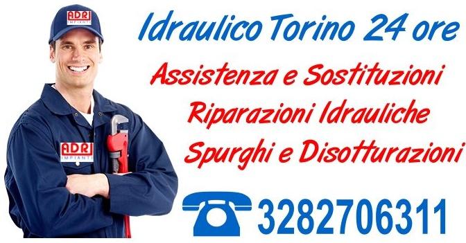Idraulico Torino 24 ore