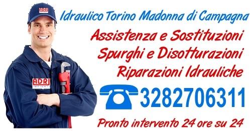 Idraulico Torino Madonna di Campagna