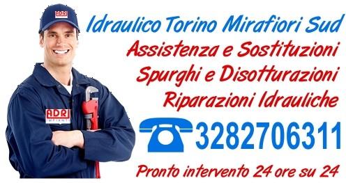 Idraulico Torino Mirafiori Sud