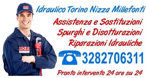 Idraulico Torino Nizza Millefonti