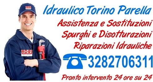 Idraulico Torino Parella