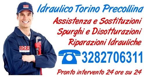 Idraulico Torino Precollina