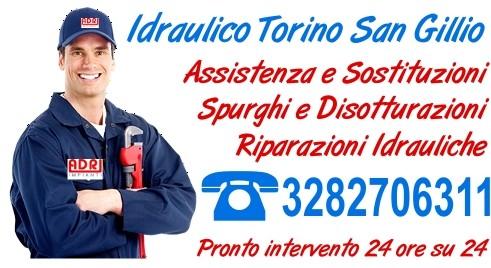 Idraulico Torino San Gillio