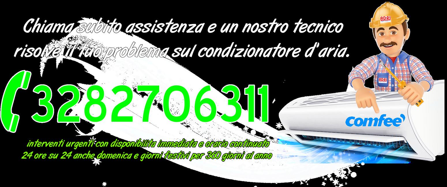 Assistenza condizionatori Comfee Torino